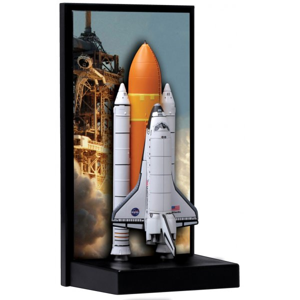 Dragon Space NASA Space Shuttle Atlantis with solid rocket ...