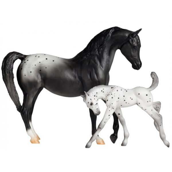 Best Breyer Horses And Horse Toys : Classics horse and foal appaloosa