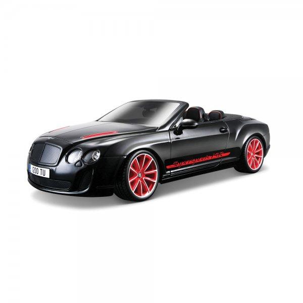 Bentley Continental Gt White Supersport Car For Sale: Bburago Bentley Continental Supersports Convertible Isr