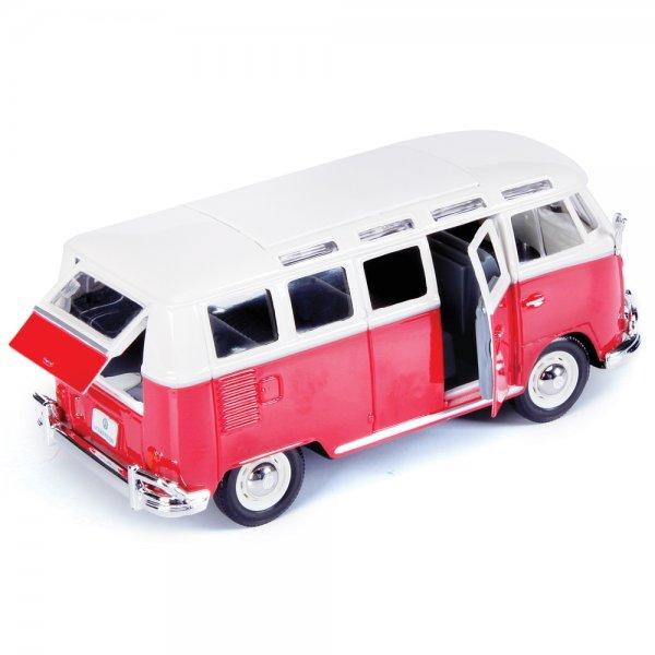 Maisto Volkswagen Van ' Samba ' - 1:25 Scale cast Car - Maisto ...
