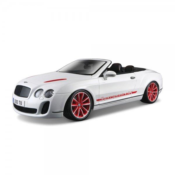 Bburago Bentley Continental Supersports Convertible Isr