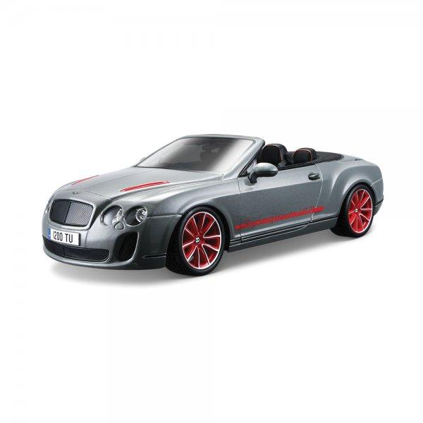 Bentley Continental Gt White Supersport Car For Sale: Bburago Bentley Continental Supersports Convrtible ISR