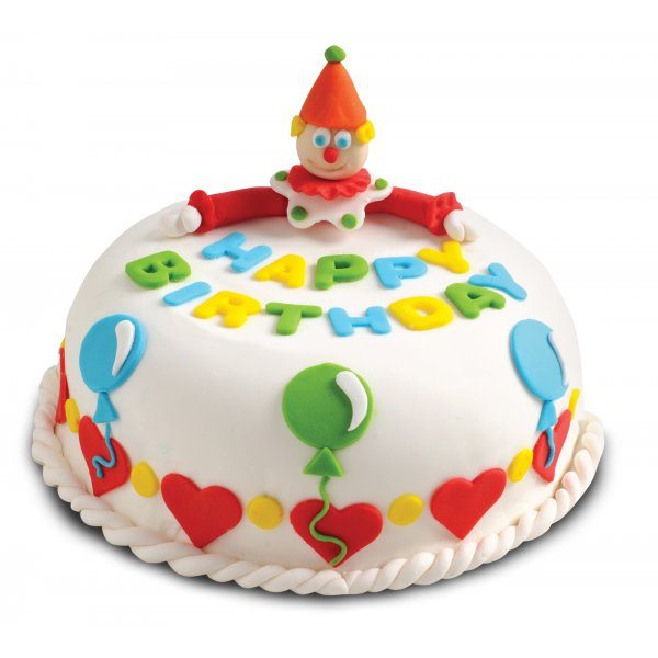 Birthday Cake Decoration - Create. Decorate & Eat - Sweet ...