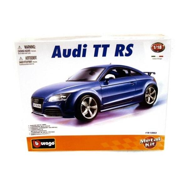 Bburago Audi TT RS Diecast Metal Kit