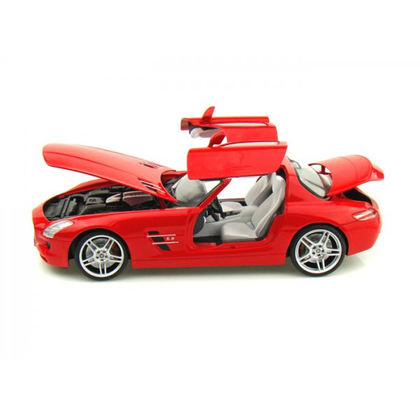 Mercedes benz sls amg 1 18 scale diecast car from for Mercedes benz scale model cars