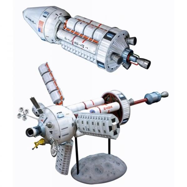 MPC NASA Pilgrim Observer Space Station - 1:100 Scale ...