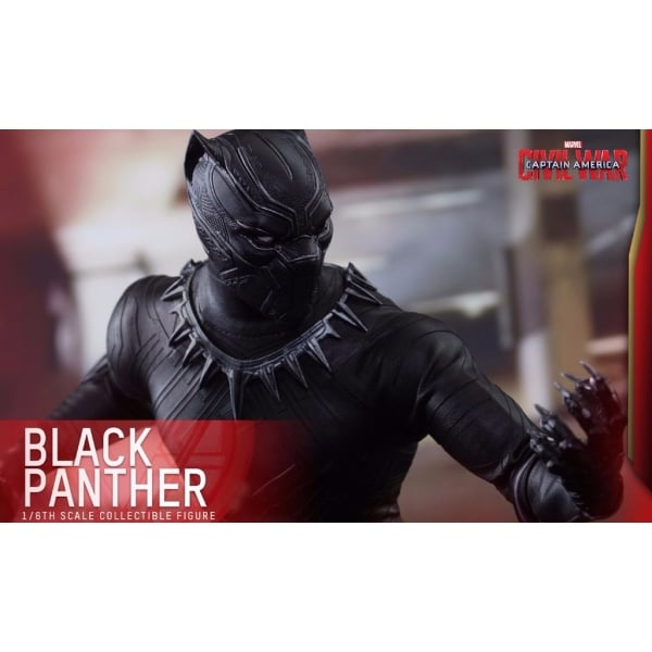 60d61cea5f7 Hot Toys Black Panther 1 6 Scale Figure - Captain America  Civil War ...