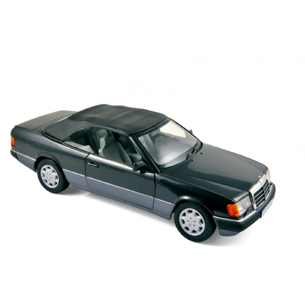 Norev mercedes benz 300 ce 24 cabriolet 1990 black for Mercedes benz scale model cars