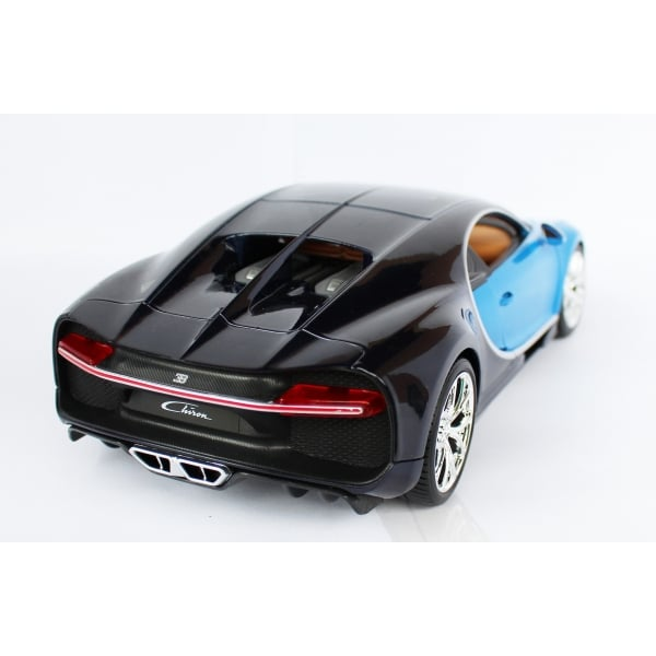 bburago bugatti chiron blue 1 18 scale diecast car bburago from jumblies models uk. Black Bedroom Furniture Sets. Home Design Ideas