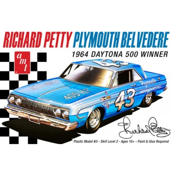 Richard Petty For Sale: AMT Richard Petty's 1964 Plymouth Belvedere