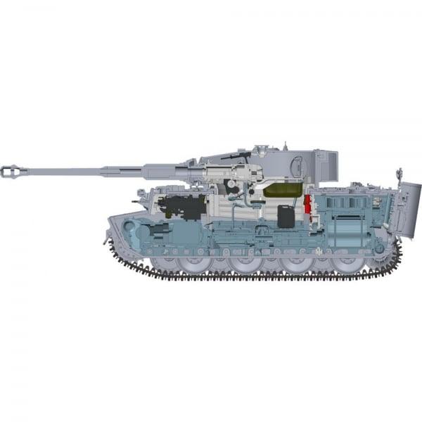Tiger Tank Interior Model: Rye Field Model 1:35 Tiger I Middle Production Otto Caruis