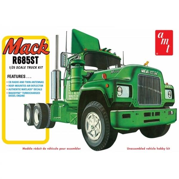 AMT Mack R685ST - Semi Tractor - 1:25 Scale Truck Kit ...