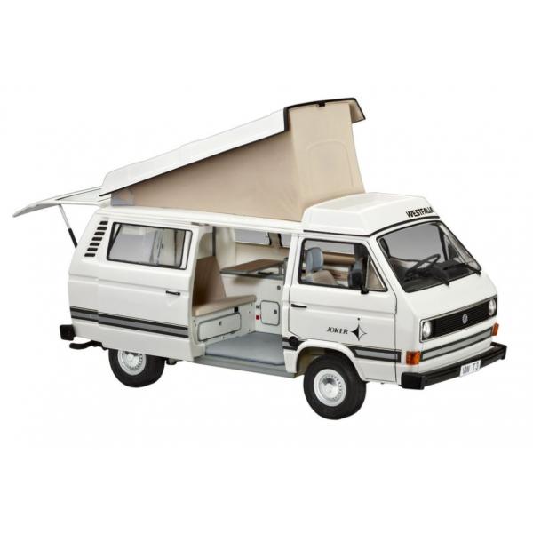 revell 1 25 volkswagen t3 39 camper 39 model car kit. Black Bedroom Furniture Sets. Home Design Ideas