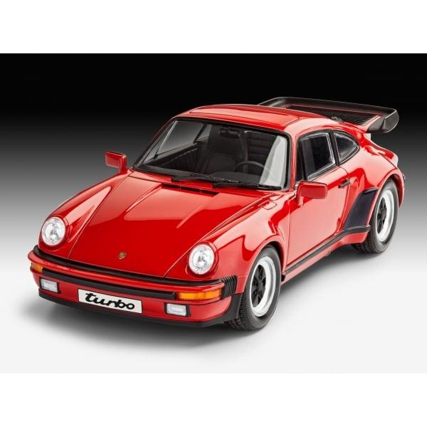 Porsche 911 Car: Revell 1:25 Porsche 911 Turbo Model Car Kit