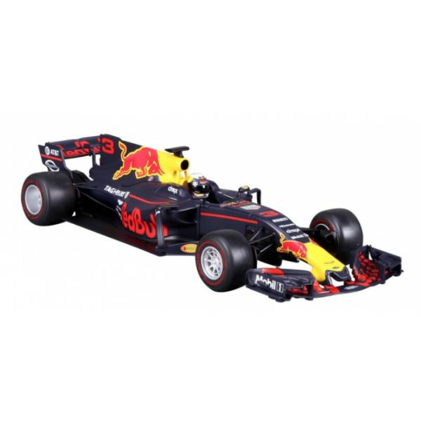 9c8abd6cafe Bburago 2017 Red Bull Racing F1 Team Daniel Ricciardo - 1 18 Scale Diecast  Car