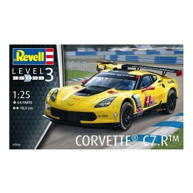 Revell 1:25 Corvette C7.R Car Kit