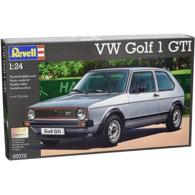 Revell 1:24 VW Golf Mk.I GTI Model Car Kit