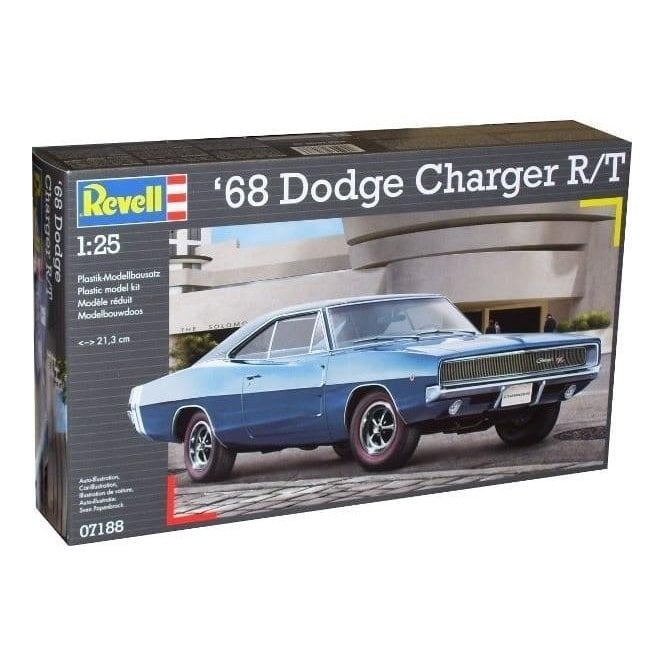 Revell 1:25 68 Dodge Charger R/T Model Car Kit
