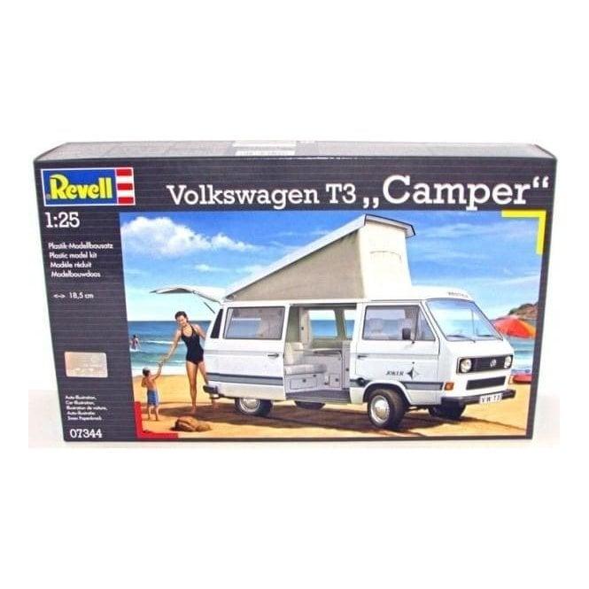 Revell 1:25 Volkswagen T3 ' Camper ' Model Car Kit
