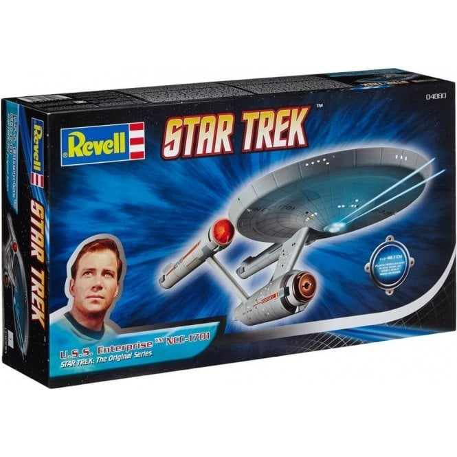Revell 1:600 U.S.S. Enterprise NCC-1701 Star Trek Model Kit