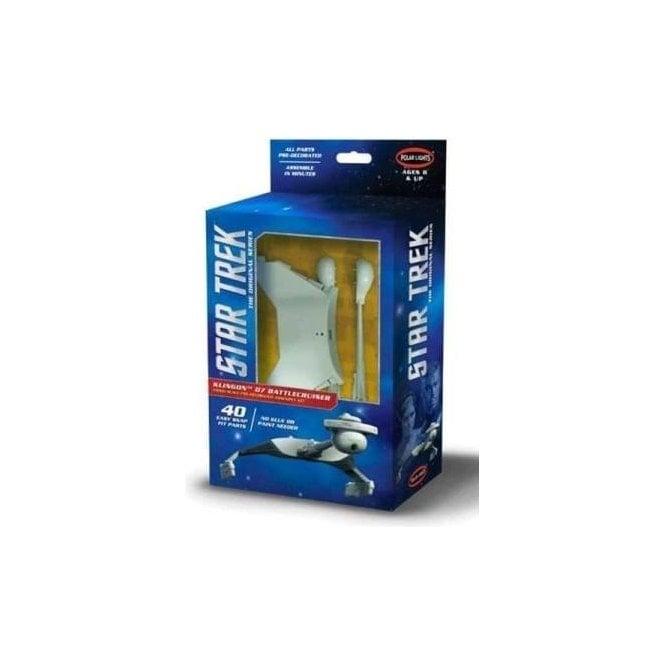 Polar Lights Star Trek U.S.S. Enterprise Assembly Kit - 1:1000 Scale Model Kit