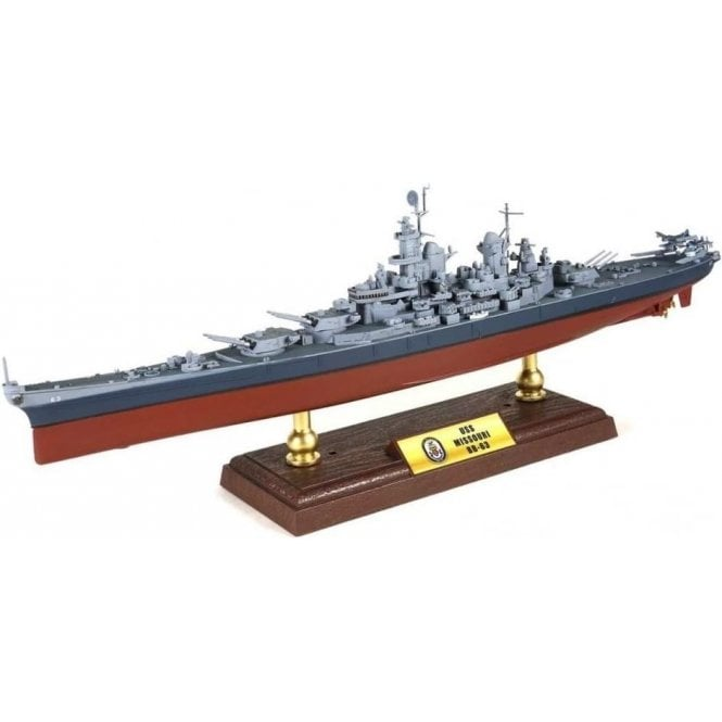 Forces of Valor 1:700 Iowa-class Battleship USN, USS Missouri BB-63, Pacific, Battle of Okinawa 1945