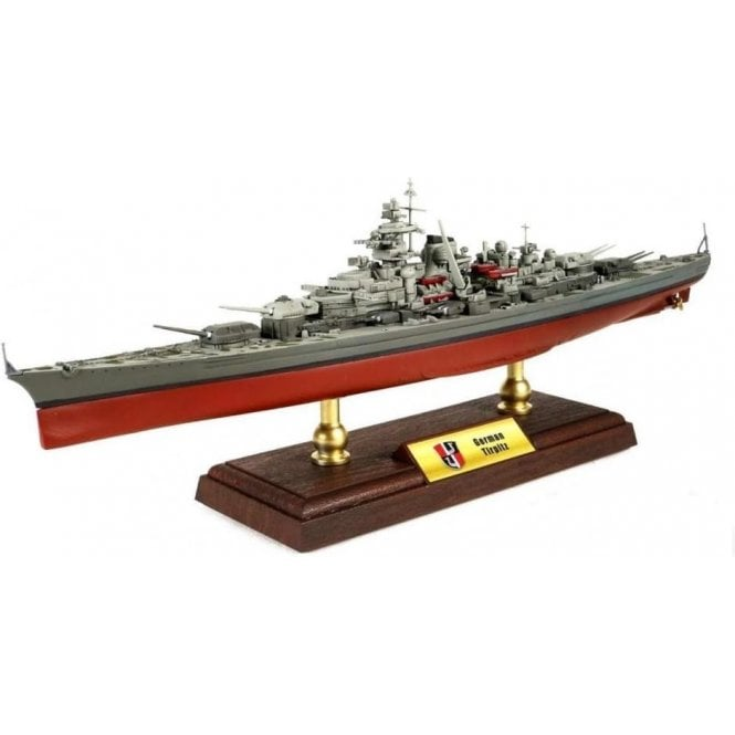 Forces of Valor 1:700 Bismarck-class Battleship German Navy, Tirpitz, Norway, 1942