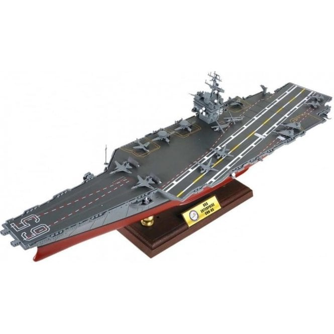 Forces of Valor 1:700 Enterprise-class Carrier USN, USS Enterprise CVN-65, Operation Enduring Freedom 2001