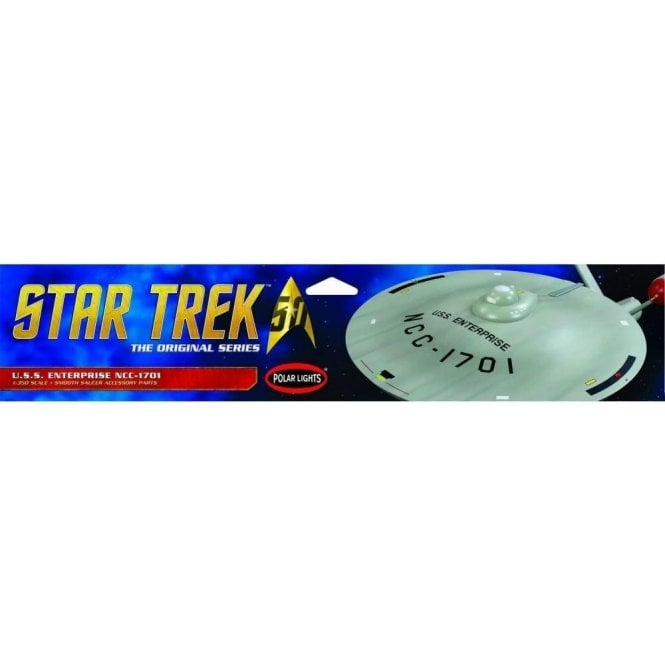 Polar Lights Star Trek - TOS USS Enterprise Smooth Saucer - 1:350 Scale