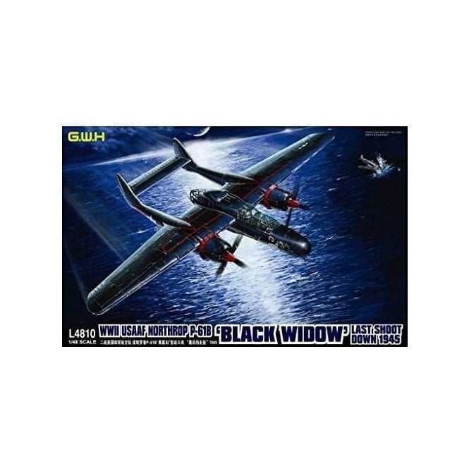 Great Wall Hobby 1:48 P-61B Black Widow USAAF ' Last Shoot Down 1945 ' Aircraft Model Kit