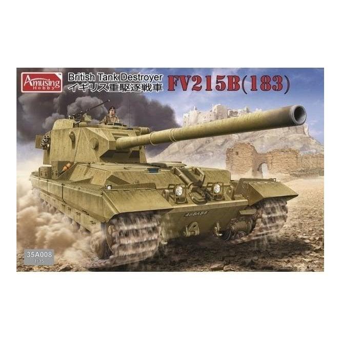 Amusing Hobby 1:35 Tank Destroyer FV215B (183) Military Model Kit