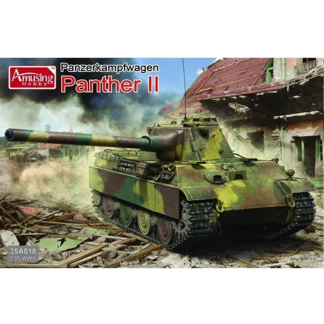 Amusing Hobby 1:35 Panzerkampfwagen Panther II Military Model Kit