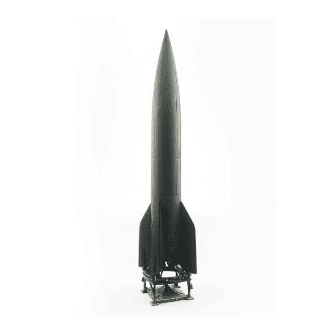 Precision Model Art 1:72 V2 Rocket & Launch Trailer, German Army 1945