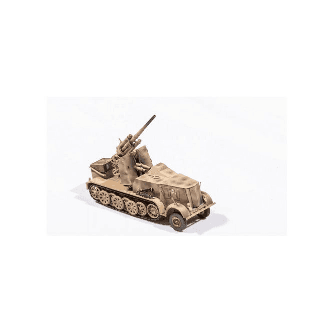 Precision Model Art 1:72 SD.Kfz.8 DB9, Flak 18 88mm Camoflage, German Army 1942