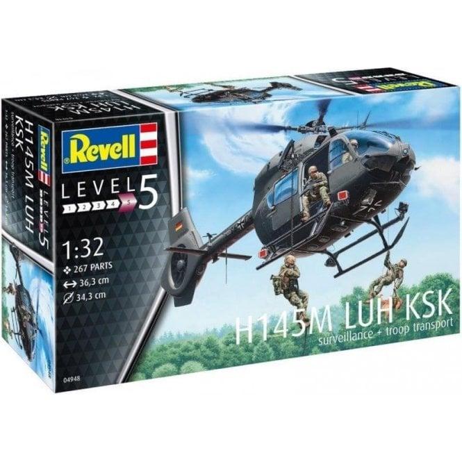 """Revell 1:32 H145M LUH """"KSK"""" Aircraft Model Kit"""