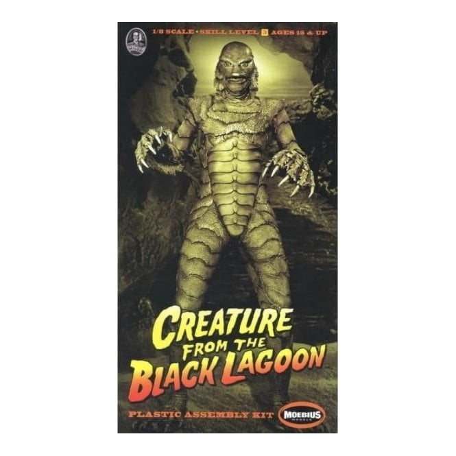Moebius Models Creature from the Black Lagoon Figure - 1:8 Scale Figure Kit