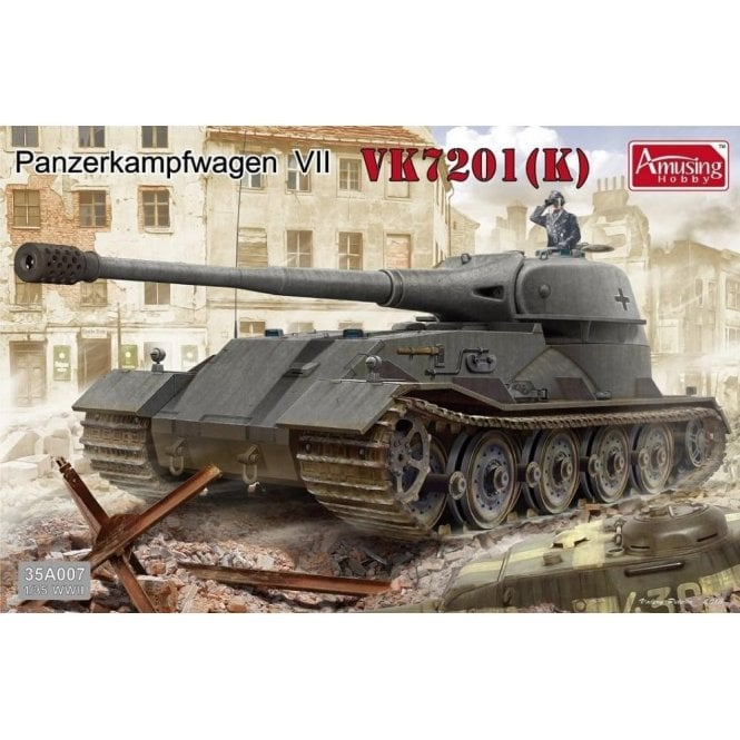 Amusing Hobby 1:35 Panzerkampfwagen VII VK7201K Military Model Kit