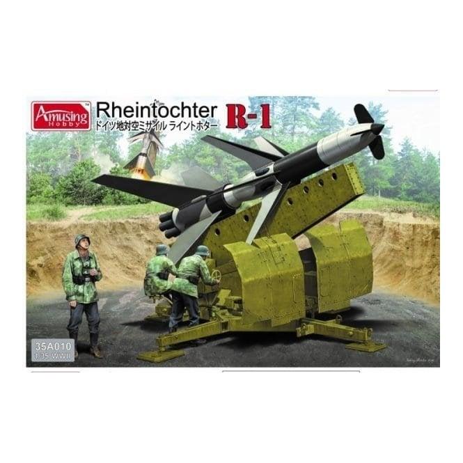 Amusing Hobby 1:35 Rheintochter R-1 Military Model Kit