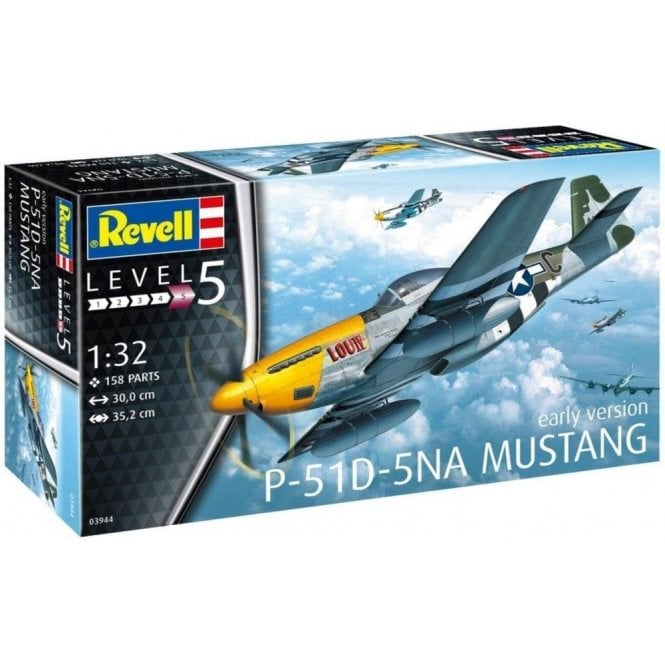 Revell 1:32 P-51D-5NA Mustang Aircraft Model Kit