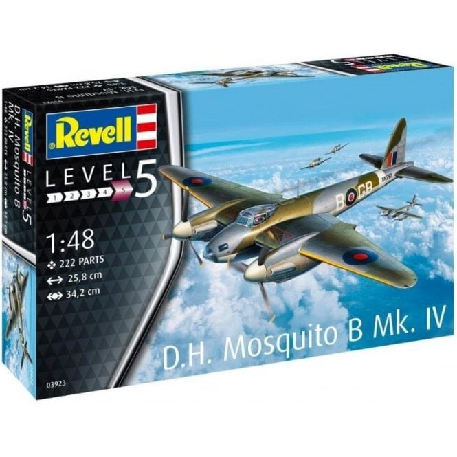 Revell 1:48 DH Mosquito Bomber Ver. MK IV Model Aircraft Kit