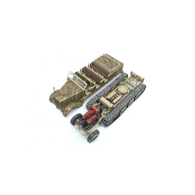 Precision Model Art 1:72 SD.Kfz.8 DB10, Schwerer Zugkraftwagen 12T, German Army
