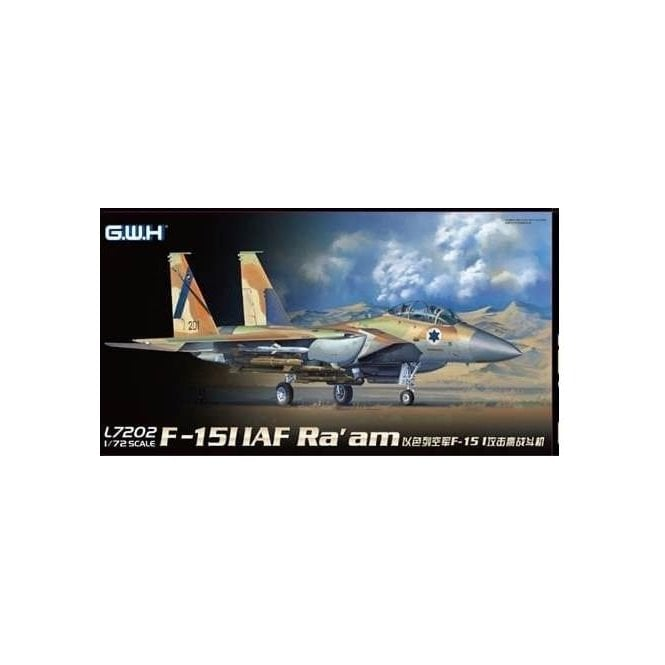 Great Wall Hobby 1:72 F-15I IAF Ra'am Aircraft Model Kit