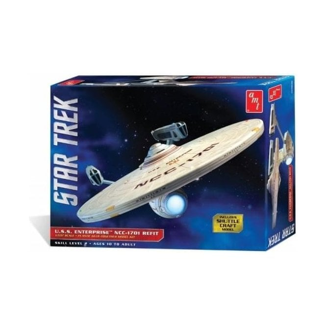AMT Star Trek - U.S.S. Enterprise Refit - 1:537 Scale Model Kit