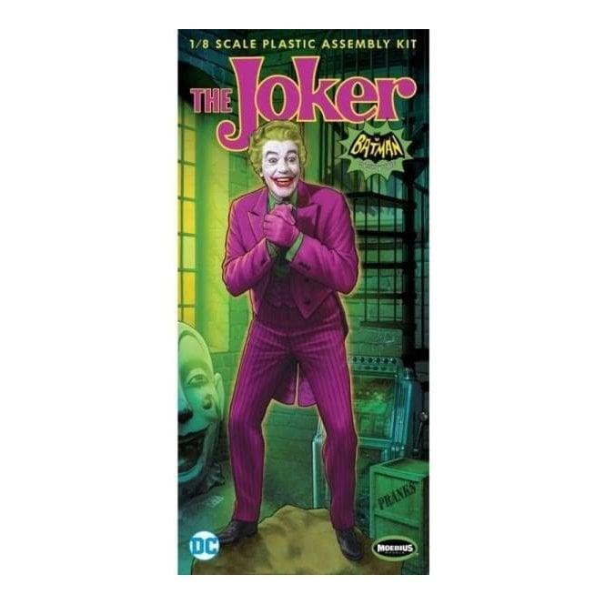 Moebius Models Cesar Romero as the Joker 1966 Batman TV Series Figure - 1:8 Scale Figure Kit