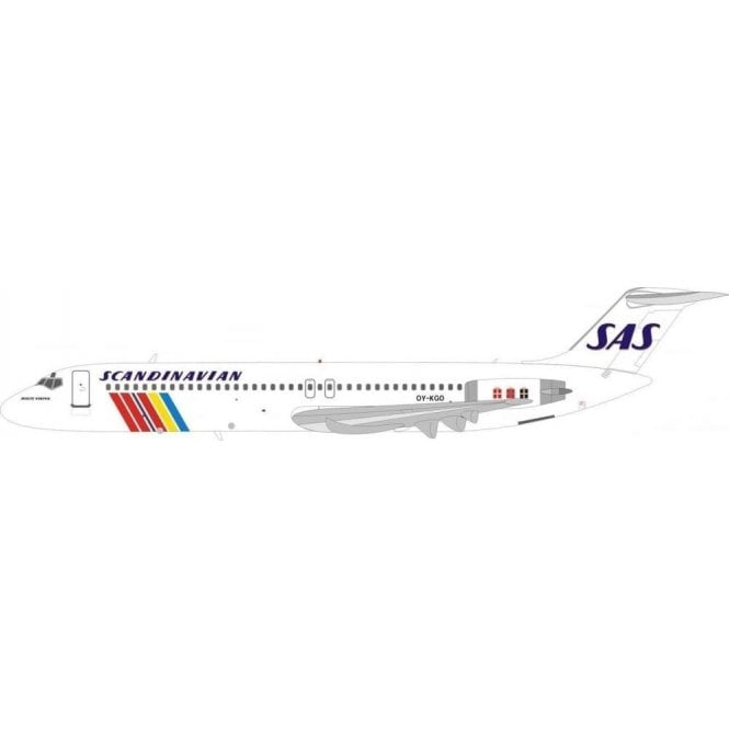 InFlight 200 DC-9-41 Scandinavian Airlines SAS ' Holte Viking ' Reg - OY-KGO - 1:200 Scale