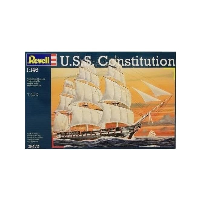 Revell 1:146 H.M.S Constitution Model Ship Kit