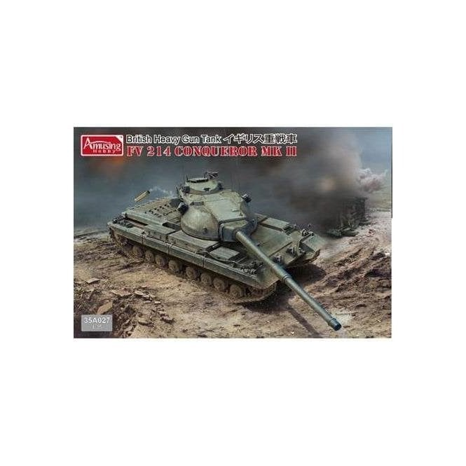 Amusing Hobby 1:35 FV 214 Conqueror MK II Military Model Kit