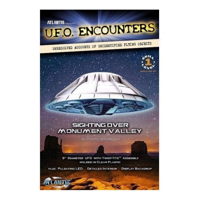 Atlantis Models Monument Valley Lighted UFO Model Kit