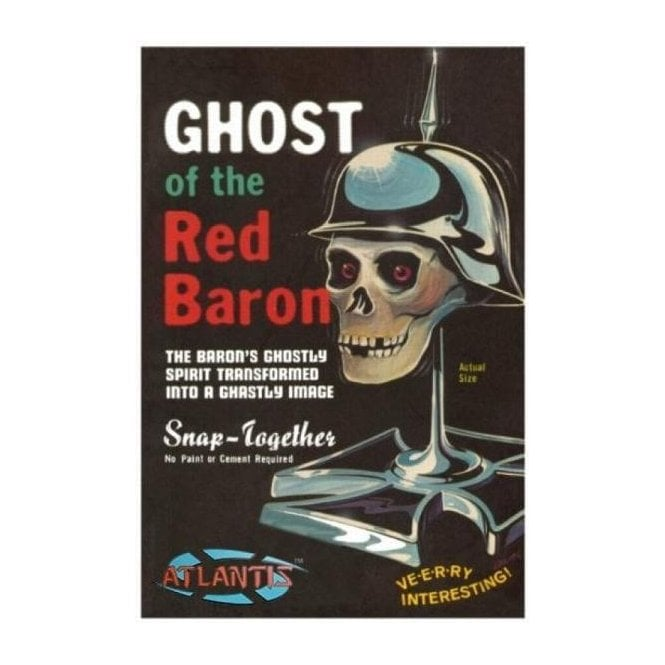 Atlantis Models 1:5 Ghost of the Red Baron Figure Kit
