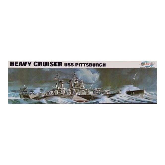 Atlantis Models 1:480 USS Pittsburgh CA-72 Heavy Cruiser Model Ship Kit